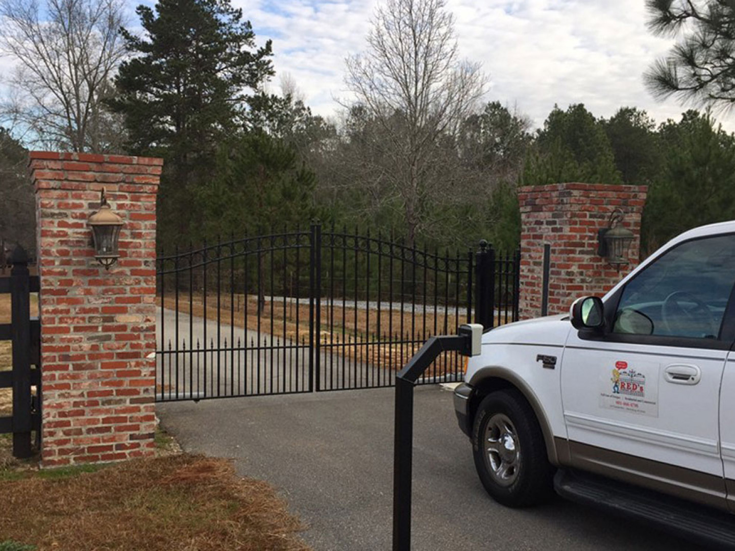 What are the Benefits of an Entrance Gate?